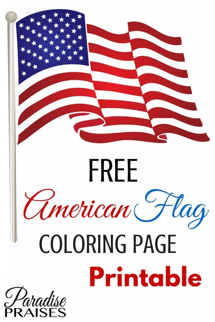 photograph relating to American Flag Printable referred to as American Flag Printable