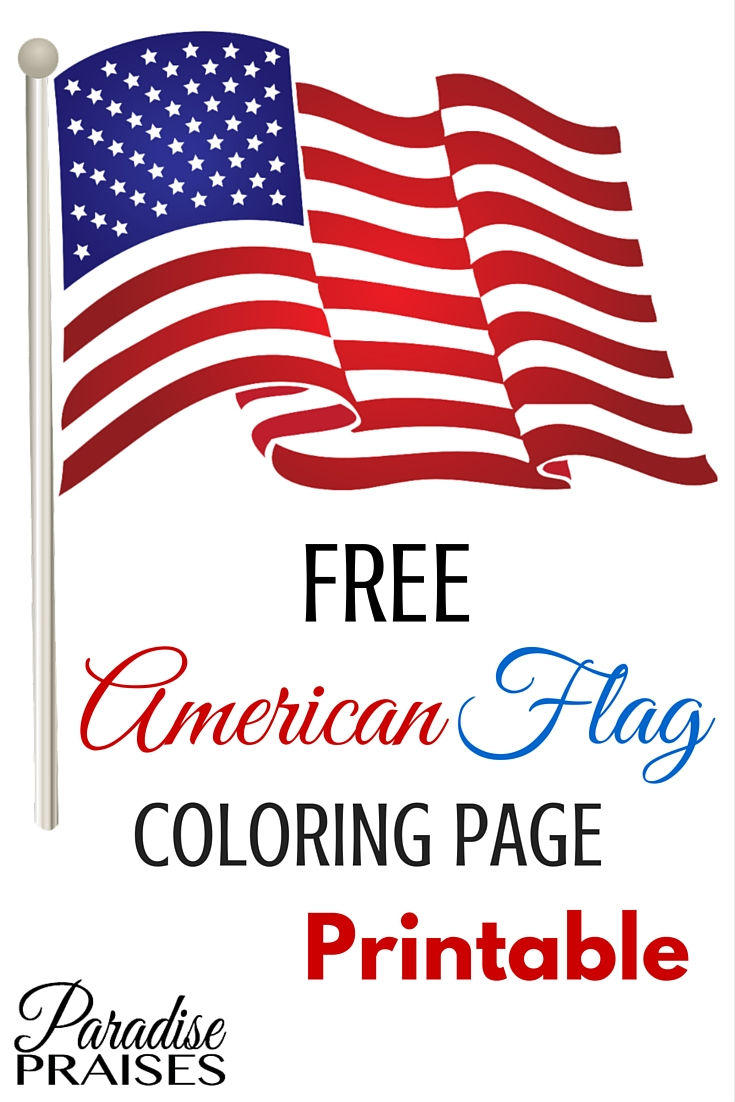It is a photo of United States Flag Printable regarding print out