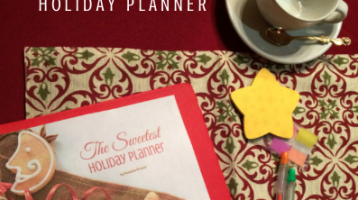 2018 Free Printable Holiday Planner