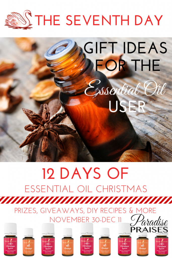 DIY Gifts for the Essential Oil User via paradisepraises.com