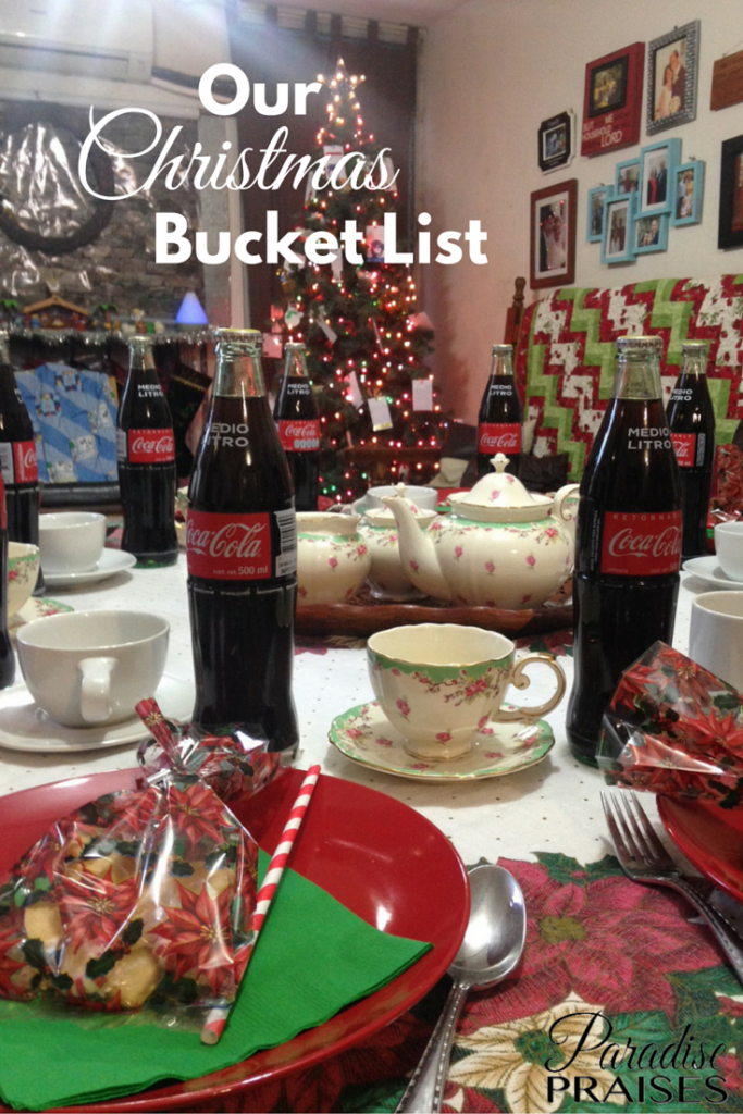 Our Family Christmas Bucket List