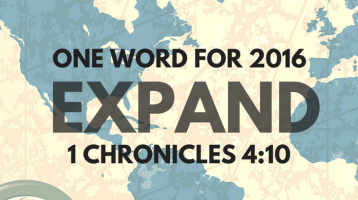 One Word: Expand (Link Up)