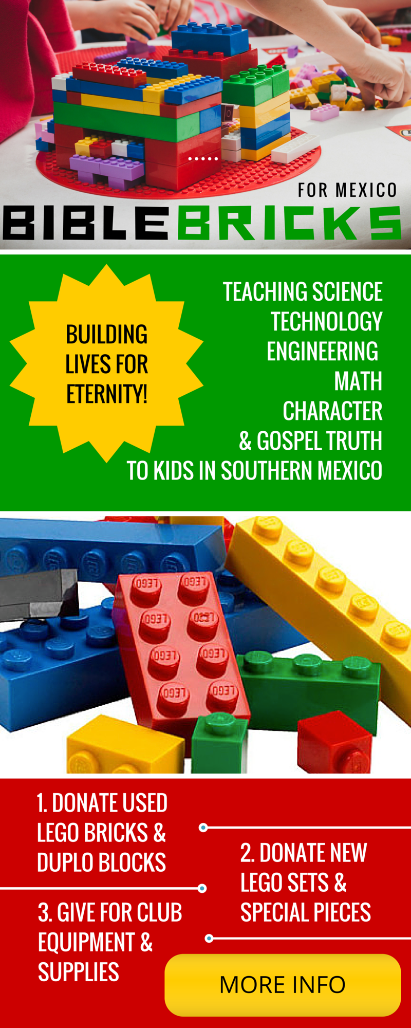 Bible Bricks For Mexico: Lego Group Education and Bible training