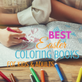 Best Easter coloring books for kids and adults via paradisepraises.com