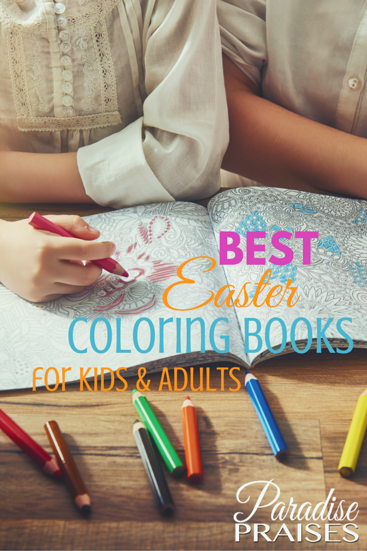 13 best easter coloring books for kids and adults plus free printable paradise praises - Best Colored Pencils For Coloring Books