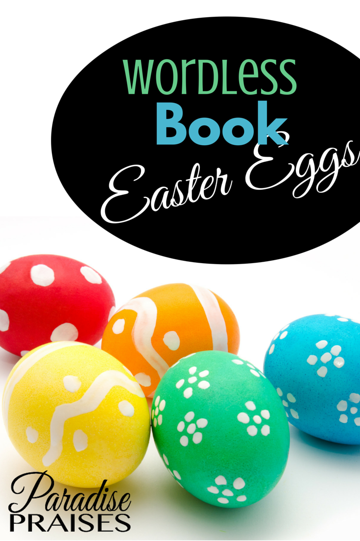 graphic about Printable Wordless Picture Books referred to as Wordless Guide Easter Eggs (Free of charge Printable) Paradise Praises