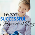 How to have a successful homeschool day, Homeschool Series via ParadisePraises.com