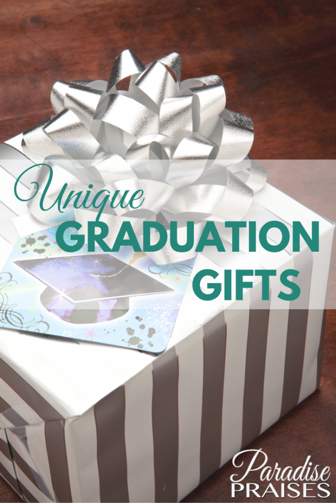 Unique Graduation Gifts via ParadisePraises.com