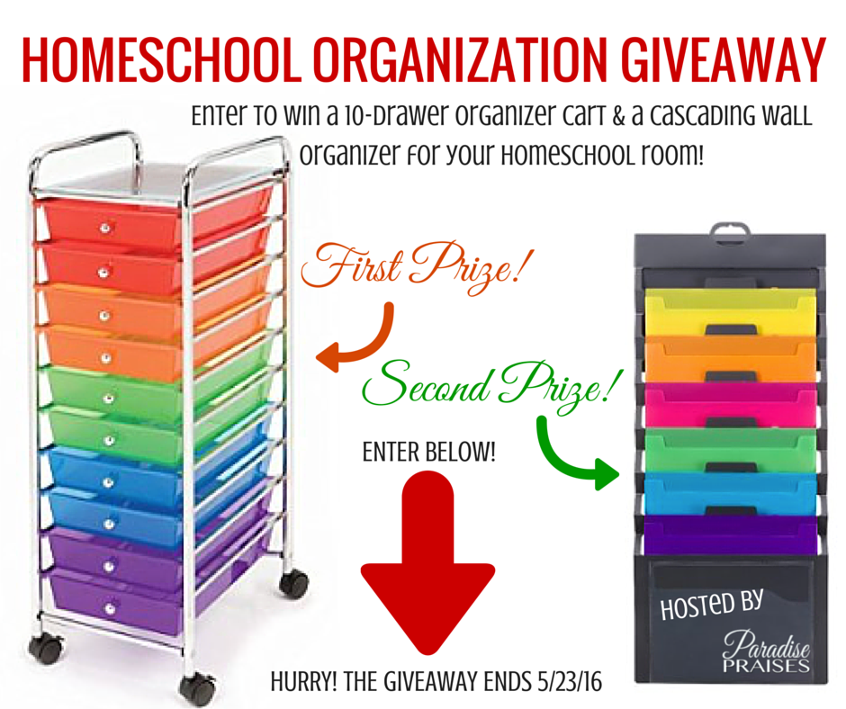 Homeschool Organization Giveaway
