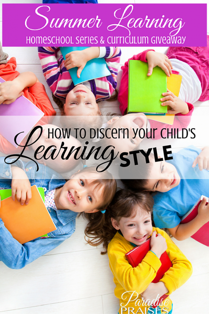 How to discern your child's learning style