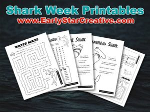 shark week printables