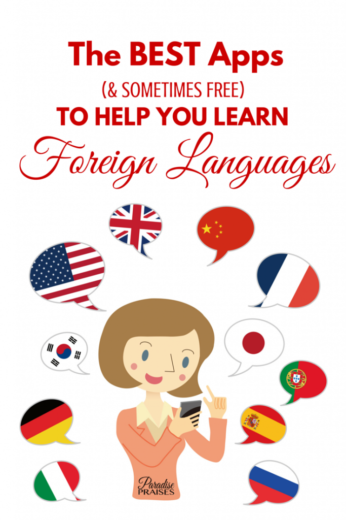 Best Apps for Learning Languages (series on ParadisePriaises.com)