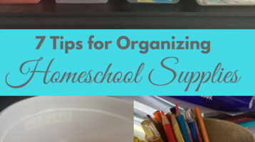 7 Tips for Keeping Supplies Organized