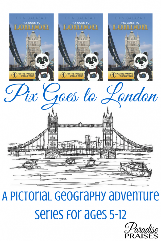 Pix Goes to London, kids geography adventure series
