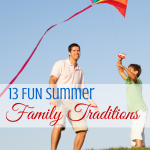 13 fun summer family traditions via paradisepraises.com
