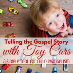 Give the Gospel with Matchbox Cars via paradisepraises.com