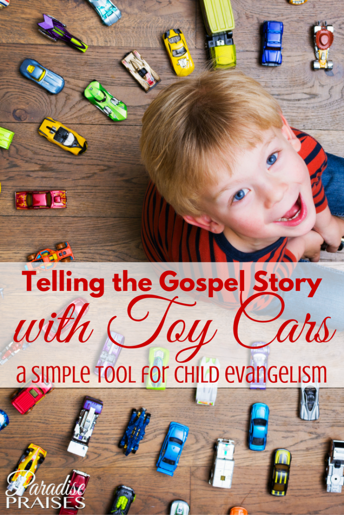 Give the Gospel: Matchbox Cars via paradisepraises.com