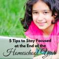 End of Homeschool Year
