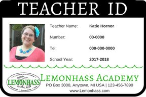 How to make student id cards free printable paradise for Teacher id card template