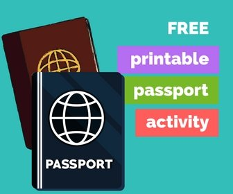 printable passport activity