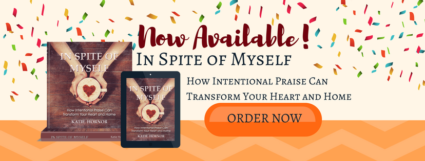 In Spite of Myself Book Katie Hornor paradisepraises.com