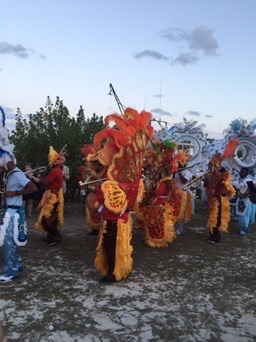 christmas in the bahamas junkanoo by betsi hill