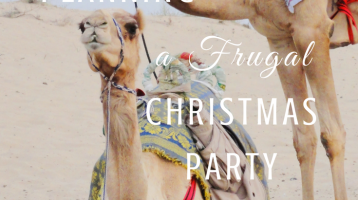 5 Tips for Planning a Frugal Christmal Party