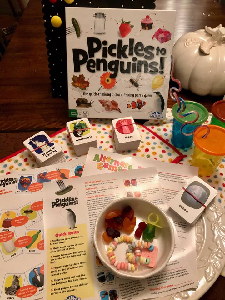 friendsgiving entertaining guests with pickles to penguins game paradisepraises.com