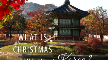 What is Christmas like in Korea? [Free Gift]