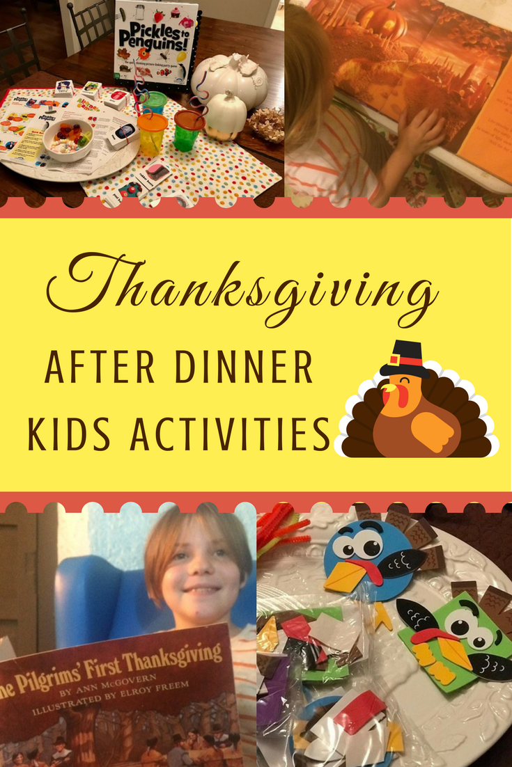 Thanksgiving: After dinner kids activities via paradisepraises.com