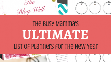 Ultimate List of Planners for the New Year