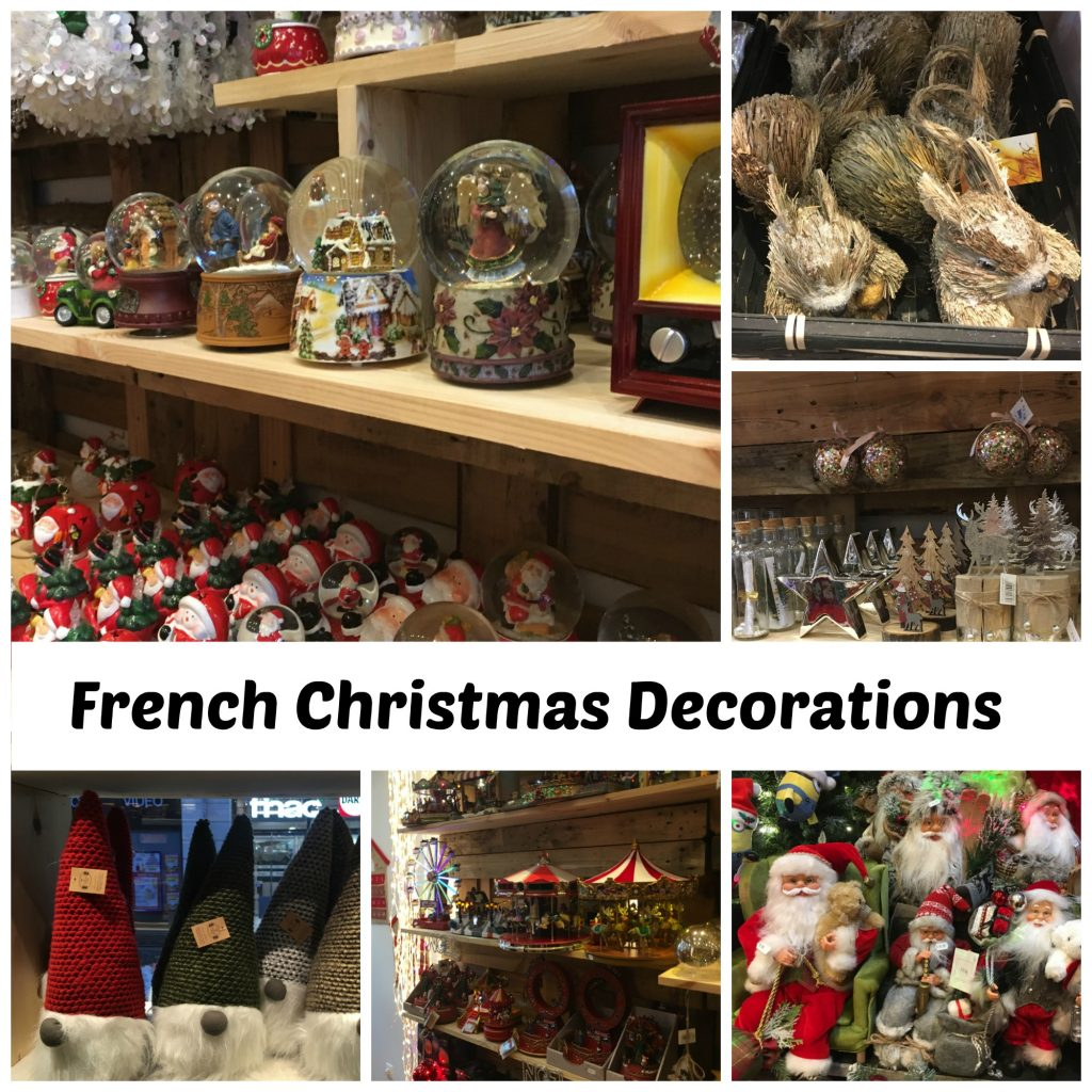 French Christmas Decorations