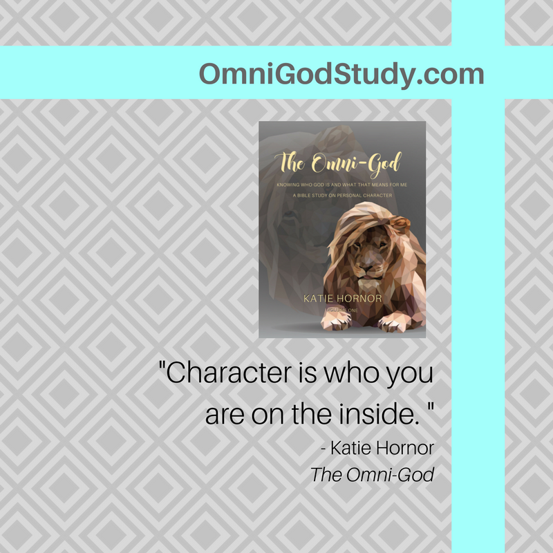 the Omni-God: Knowing Who God is and What that Means for Me, personal character study by Katie Hornor, omnigodstudy.com