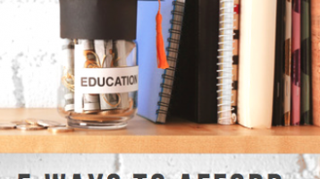 5 Ways to Afford Homeschooling