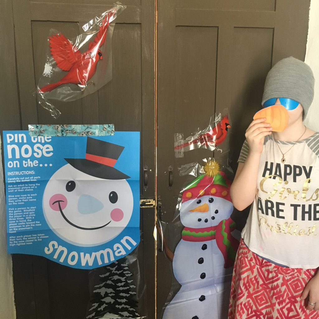 Frozen Olaf Birthday Party game, paradisepraises.com