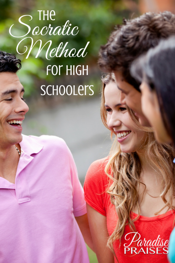 the socratic method for high schoolers via paradisepraises.com