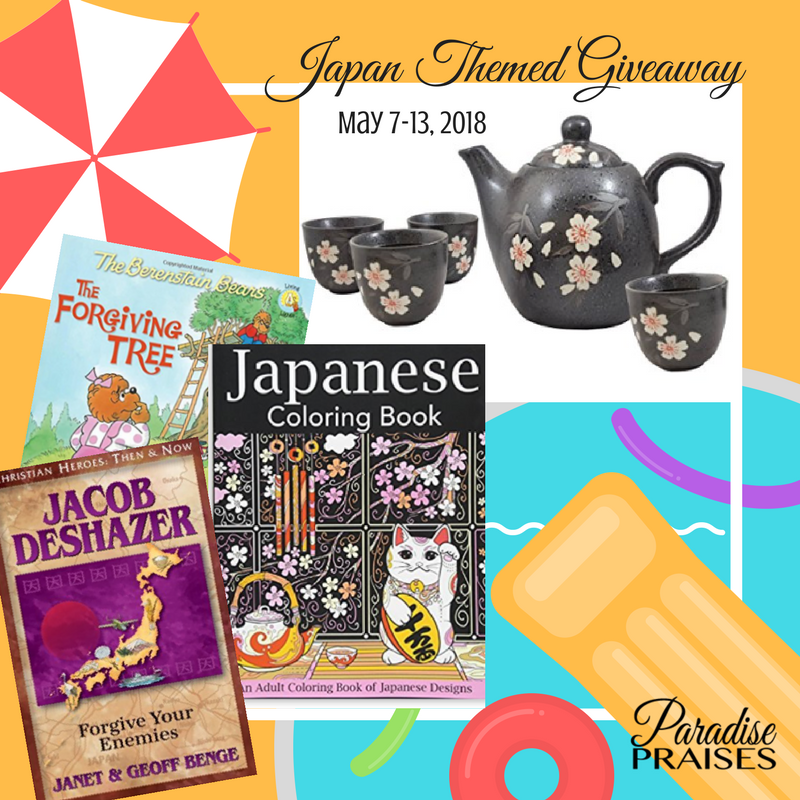 japan themed giveaway