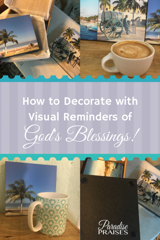 stickuppix - how to decorate with visual reminders of God's Blessings