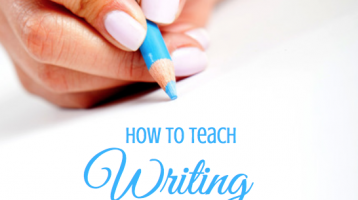 How To Teach Writing Without Writing