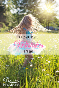 mistakes are ok, a lesson plan