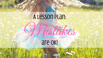 Mistakes – A Lesson Plan